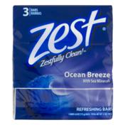 Zest Refreshing Bars Ocean Breeze