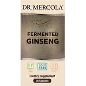 Dr. Mercola Ginseng, Fermented, Capsules