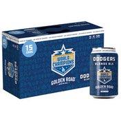 Golden Road Brewing Dodgers Blonde Ale Beer Cans