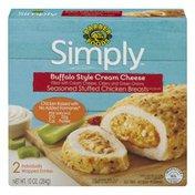 Barber Foods Simply Seasoned Stuff Chicken Breasts Buffalo Style Cream Cheese