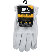 Wells Lamont Gloves, Goatskin, Durable & Flexible, Large