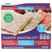Food Club Variety Pack Toaster Pastries
