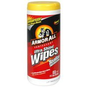 Armor All Ultra Shine Wipes, Protectant