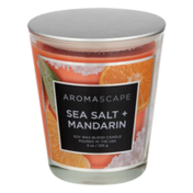 Aromascape Soy Wax Blend Candle Sea Salt + Mandarin