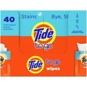 Tide Instant Stain Remover Wipes