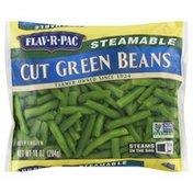 Flav R Pac Green Beans, Steamable, Cut