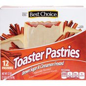 Best Choice Brown Sugar & Cinnamon Frosted Toaster Pastries