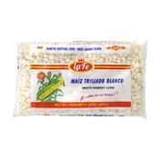 La Fe Maíz Trillado Blanco, White Hominy Corn