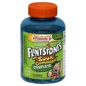 Flintstones Multivitamin, Children's, Sour Gummies Complete