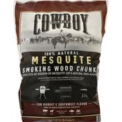 Cowboy Smoking Wood Chunks, Mesquite, 100% Natural