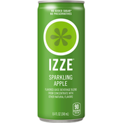 Izze Juice Beverage, Sparkling Apple