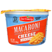 Our Family Macaroni And Cheese Dinner