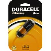 Duracell USB Memory, 4GB