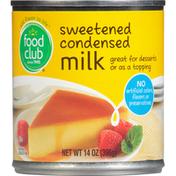 Food Club Milk, Condensed, Sweetened