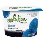 Evolution Fresh Blueberry Nonfat Greek Yogurt