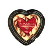 Chuckanut Bay Foods Strawberry Heart Cheesecake