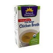 Natural Directions Organic Free Range Chicken Broth