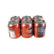 Meijer Orange Flavored Caffeine Free Soda