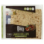 Brooklyn Bred Lavash Roll-Ups, Sprouted Grains
