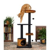 Prevue Pet Products Kitty Power Paws Tiger Tower Plush Cat Furniture