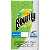 Bounty Basic Select-A-Size Paper Towels, White, 1 Super Plus Roll Towels/Napkins