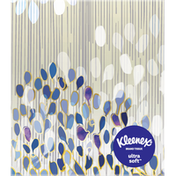 Kleenex Ultra Soft Facial Tissues Cube Box