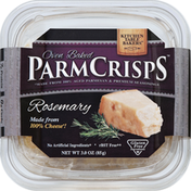 Kitchen Table Bakers Parm Crisps, Oven Baked, Rosemary