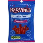 Red Vines Twists, Sugar free, Strawberry