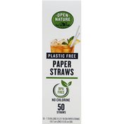 Open Nature Straws, Paper, Plastic Free