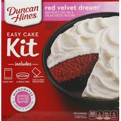 Duncan Hines Easy Cake Kit, Red Velvet Dream
