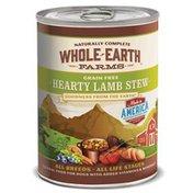 Whole Earth Farms Merrick Grain Free Hearty Lamb Stew