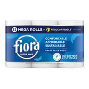 Fiora Ultra Soft Bath Tissue, Mega Roll