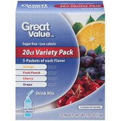 Great Value Variety Pack Drink Mix