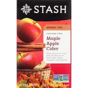 Stash Tea Herbal Tea, Caffeine-Free, Maple Apple Cider, Tea Bags