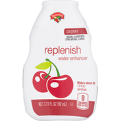 Hannaford Water Enhancer, Cherry, Replenish