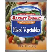 market basket Mixed Vegetables, No Salt Added