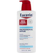Eucerin Lotion, Concentrated, Professional Repair, Fragrance Free, for Extremely Dry Skin