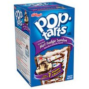 Kellogg's Pop-Tarts Frosted Hot Fudge Sundae Toaster Pastries