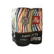 Illy Issimo Caffé Latte Italian Espresso Style with Milk Iced Coffee Drink
