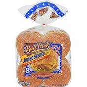 Ball Park Jumbo Seeded Burger Buns