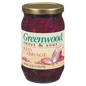 Greenwood Sweet & Sour Original Recipe Red Cabbage