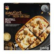 SB Signature Pastry-Thin Crust Pizza Meatball