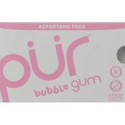 Pur Chewing Gum, Aspartame Free, Bubble Gum