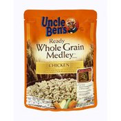 Uncle Ben's Chicken Ready Whole Grain Rice Medley