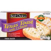 Best Choice Texas Toast With 5 Cheeses Thick Slices