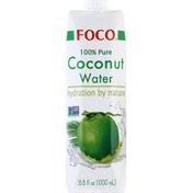 Foco Coconut Water, 100% Pure