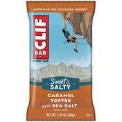 CLIF BAR Sweet & Salty Caramel Toffee with Sea Salt Energy Bar