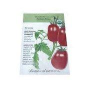 Botanical Interests Organic Italian Roma Bush Roma Tomato Seeds