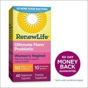 Renew Life Women's Vaginal Probiotic 50 Billion