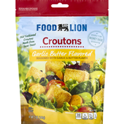 Food Lion Croutons, Garlic Butter Flavored